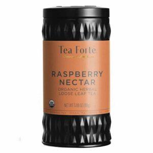 Ceai infuzie rubinie de zmeura si hibiscus Raspberry Nectar