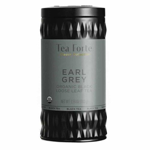 Ceai negru Earl Grey Frunze de ceai negru Assam cu parfum imbatator de bergamota