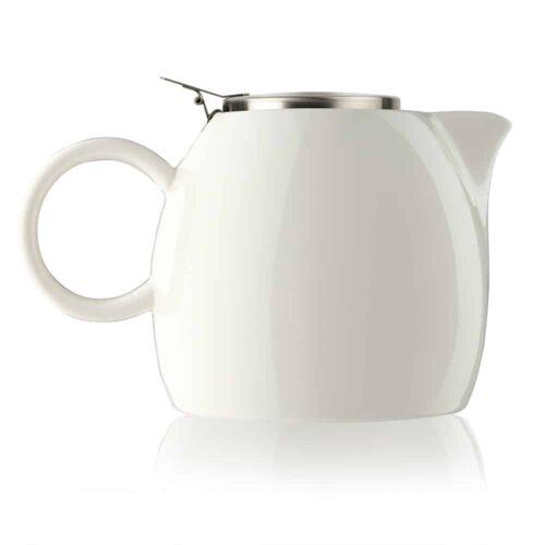 Ceainic ceramic alb Pugg White