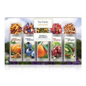Cutie de ceaiuri cadou Herbal Retreat tea-forte