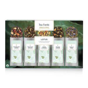Cutie de ceaiuri cadou Lotus tea-forte