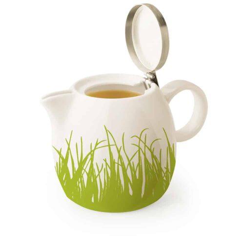 Ceainic ceramic Spring Grass pentru infuzie ce ceai