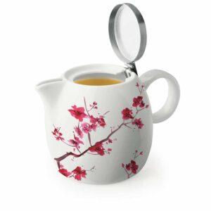 Ceainic 700 ml pentru ceai Pugg cherry blossoms