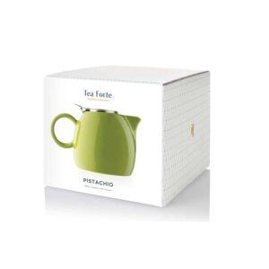 Ceainic pentru ceai ceramic Pugg Green