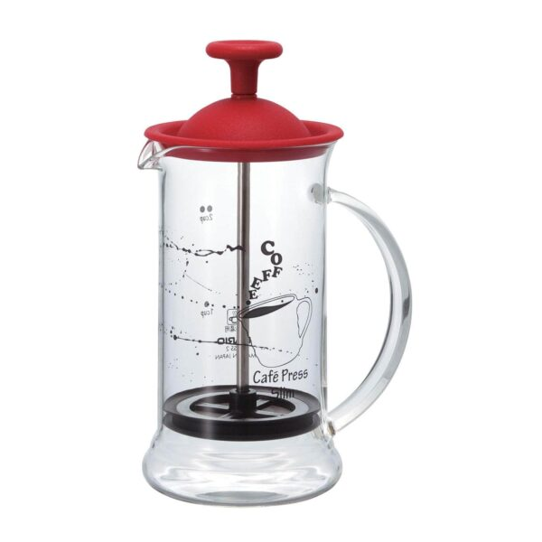 HARIO Coffee Tea Press Slim red 240ml