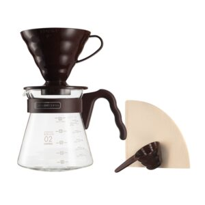 Hario V60 Pour Over Kit 700ml kit de cafea