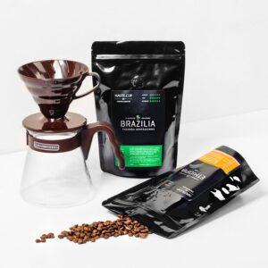 Set Hario V60 2 pungi de Cafea